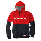 NEW FACTORY EFFEX FX HONDA DOUBLE ZIP UP HOODY RED / BLACK BLK ALL SIZES