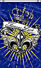 FOREVER LOVE You Be Mine Decor Heart Ed Hardy Crown Spade New 3x5 Banner Flag