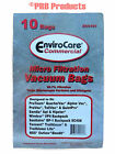 Commercial Vacuum Cleaner 6qt Bag 612084 TrailBlazer & Lite BackPack Part#ECC181