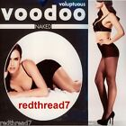 Voodoo Voluptuous Naked Plus Size 18 20 22 24 Sheer Stockings Pantyhose Black Sz