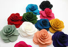 1PC Blooming Fabric Flower Brooch Hair Clip Boutique Hair Accessories