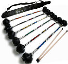 "Devil Sticks: ""Super Star"" Flower Stick Set + FREE Bag! Juggling Flower Sticks"