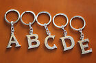 1x New Stainless Steel High Quality Shiny Key Chain Alphabet Letter A-Z