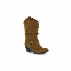 WOMENS ROCKET DOG SIDESTEP RIDER COWBOY WESTERN BROWN BLACK TAN BOOTS SIZE 4-8