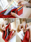 Free ship Slim Credit Card Holder Wallet PU Leather Purse  Cheap