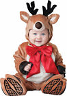 Reindeer Rudolph Infant Toddler Baby Costume Christmas Antlers Photo Opp Holiday