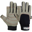Sailing Gloves 2 Cut Yachting Canoe Fish Dinghy WaterSki Outdoor Mechanic Gloves