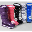 New Womens Waterproof Mid-calf Warm cotton Snow Boots Jogger Shoes rain boots