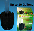 10-20 Gal Bio Sponge Filter Breeding Fry Shrimp Spawn Fish tank Aquarium Guppy