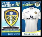 OFFICIAL~ LEEDS UNITED FOOTBALL CLUB Birthday Card LUFC