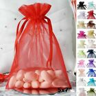 100 pcs 5x7 inch ORGANZA BAGS Pouches - Wedding FAVORS Drawstring Gift Packaging