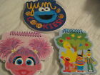 Elmo Abby & Friends Spiral Book Sesame Street Kids  3 Types to pick from