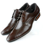 US5-12 New Top Leather pointy toe Lace Up Formal Dress Shoes fashion mens shoes