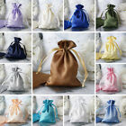 "240 pcs 4 x 6"" SATIN FAVOR Drawstring BAGS - Gift Pouches Packaging SALE"