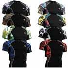FIXGEAR tight MMA gym clothing compression skin base layer T- shirts S~4XL