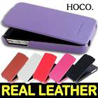 GENUINE HOCO DUKE Advanced II  REAL Leather Case Cover for Apple iPhone 4S / 4