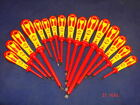 1 x CK Dextro 1000v VDE Insulated Screwdriver Slotted Phillips Pozi Or Set PH PZ