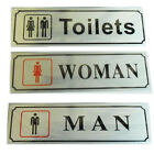 Toilet Door Sign Office Business Shop Signs Self Adhesive Office Shop Sticker