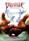 BULLET FOR MY VALENTINE Temper SIGNED Autographed PHOTO Print POSTER Shirt 05