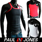 New Sexy Mens Pure Cotton Undershirt Tank Top Sleeveless Shirts Vest in sz S M L