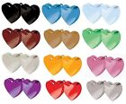DOUBLE HEART Balloon Weights (170g/6oz) Choice of 13 Colours (Wedding/Birthday+)
