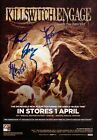 KILLSWITCH ENGAGE Disarm The Descent SIGNED Autographed PHOTO Print POSTER 003