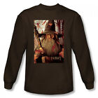 The Hobbit Gandalf Poster New Officially Licensed Adult Long Sleeve Shirt S-XXL