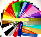 "VINYL GLOSS 25 SHEETS 12 X 12 "" FOR USE CAMEO  EXPRESSION IMAGINE MACHINES CRAFT"