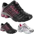 AIR TECH LADIES RUNNING TRAINERS GIRLS SPORTS GYM WALKING SHOCK ABSORBING SHOES