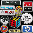 GREAT BRANDS & SPORT SPONSORS - Embroidered Patch Series You Choose - SET 2
