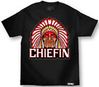 MAFIOSO CLOTHING ENEMY OF THE STATE CHIEFIN INDIAN CHIEF T SHIRT #2