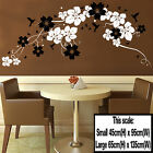 LARGE Flower Vine Wall Sticker Art Decal Gloss Vinyl Transfer Decor Stencil T8