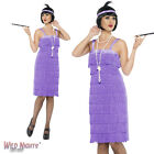 FANCY DRESS COSTUME # LADIES 1920's 30's JAZZ CHARLESTON FLAPPER DRESS SIZE 8-26
