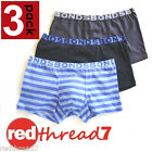 Bonds New Boys Kids Boxer Boyleg Shorts Trunk 3 Pack Size 2 3 4 6 8 10 12 14 16