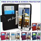 WALLET BOOK  FLIP PU LEATHER CASE COVER CARDS SLOT POUCH FOR NEW MOBILE PHONES