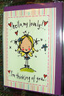 Juicy Lucy TINY Cards Brand New, Love, Thank You, Get Well, Naughty and Rude!