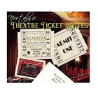 qty 25 Hollywood Movie Nostalgic Ticket Wedding Invitations Reception Cards
