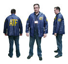 "US POLICE ""ATF"" Windbreaker / Raincoat JACKET - Cool Fancy Dress - New"