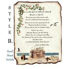 qty 50 Sand Castle Beach B Scroll Wedding Invitations Invites