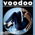 Voodoo New Sexy Womens Eclipse Opaque Leggings Footless Black 200 denier Thick
