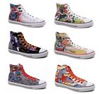 NEW CONVERSE ALL STAR CHUCK TAYLOR DC COMICS SUPERMAN BATMAN SHOES 2012 LIMITED