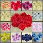 15Pcs Chinese Rose Heads Artificial Silk Flower Party Wedding Home Decorations
