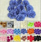 20Pcs* Artificial Silk Style Flower Heads Home Decor Party Wedding Favors FH07