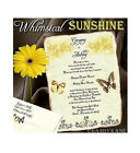 qty 50 Whimsical Sunshine Butterfly Scroll Wedding Party Invitations Invites