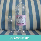 GIANT EMPTY PERSONALISED RETRO SWEETS VICTORIAN JAR WEDDING PARTY BIRTHDAY TABLE