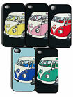 1x VW Camper VAN SPLITSCREEN CLIP ON CASE ,BACK COVER FITS IPHONE iPhone 4 & 4s