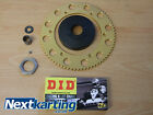 Kart Rotax Max Aftermarket Kart Clutch System 12 t DID Chain & Gold Sprocket