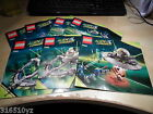 Lego - Instructions ONLY (no Lego) - Alien Conquest - Choose from Set