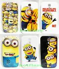 Despicable Me Hard Case Cover Minion for Samsung Galaxy S4 i9500 Mobile Phone