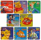 DISNEY LEARNING BOOKS (Ladybird/Parragon) Card Pages (Childrens Board Book)